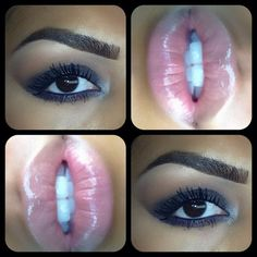 Gorgeous Eye Makeup For Radiance And Gaze Intensity Flawless Makeup, Gorgeous Makeup, Love Makeup, Makeup Looks, All Things Beauty, Beauty Make Up, Kiss Makeup, Hair Makeup, Beauty