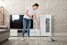 The cleanliness of your floor is the first thing your guests are likely to notice upon setting foot in your home. Hire professional cleaning services in OKC to keep your carpet, tile and wood floors looking like they were just installed! Clean Hardwood Floors, Engineered Hardwood Flooring, Professional Cleaning Services, Cleaning Hacks, Floor Cleaning, Types Of Flooring, Furniture Legs, Decoration, Clean House