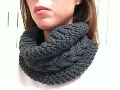 Ravelry: Barna Cowl pattern by Maria Alemany, free pattern