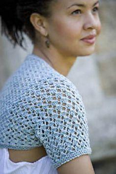 Ravelry: Little Silk Shrug pattern by Pam Allen