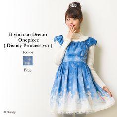 Secret Honey Disney Princesses If you can dream one piece dress