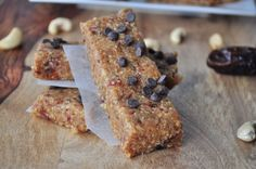Homemade Cookie Dough Larabars.  Save money by making them yourself.