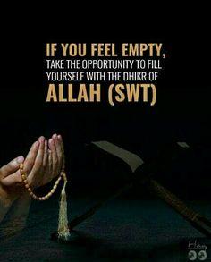 When you feel alone. Feeling Empty, Feeling Alone, When You Feel Alone, Islamic Quotes, Allah, How Are You Feeling, Feelings, Feeling Lonely, Being Lonely