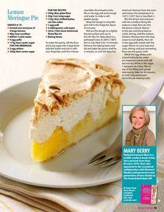 Mary Berry Lemon Meringue