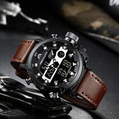 Sports Watches is our top ten list on AliExpress. Let's learn a little about Sports Watches. Which of the Sports Watches list is for you? You can click the links below to find out the current prices of the products and to order immediately. Mens Sport Watches, Watches For Men, Wrist Watches, Popular Watches, Stylish Watches, Casual Watches, Luxury Watches, Expensive Watches, Waterproof Watch