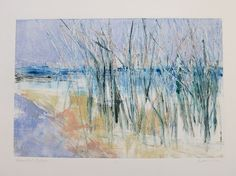 """""""Coastal Colors"""" – Monotype by Kathy Connolly"""