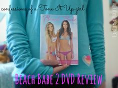 This review has been a long time coming. My brothers bought me Tone It Up's Beach Babe 2 DVD for my birthday back in August (I think they actually ordered it after the Bikini Series) and I have been wanting to write a review on the blog to give you all an idea of what the DVD is like. I wanted to go through all