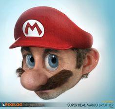 pixeloo: Super Real Mario World