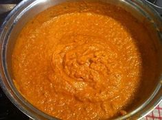 Indian curry sauce base