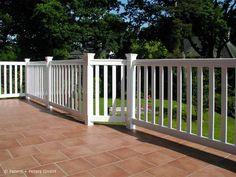 Balkongeländer Mit Rechteckrohr-handlauf | Geländer | Pinterest Neue Gelander Fur Terrasse Und Balkon Aus Holz Edelstahl Oder Glas