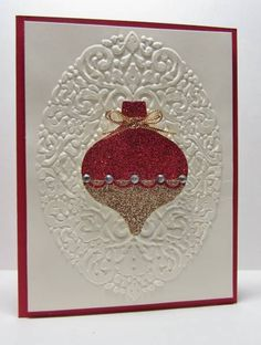 CCREW1112 Glittery Ornament