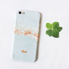 """""""Mint"""" #Trendy #pastel #mint marble printed phone case. #palettoshop #cases #iphonecase #samsungcase #marblecase"""
