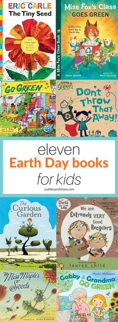 Earth Day books for kids #earthday