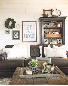 Farmhouse Living Rooms • Modern Farmhouse Living Room Decor Ideas • Farmhouse Family Rooms • Rustic Family Rooms • Farmhouse Dens • Farmhouse Style Decorating