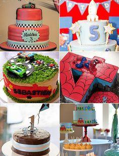 Pasteles de cumpleaños para los muchachos | Mamá