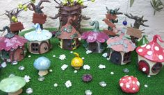 Hand Crafted Pottery Garden Fantasy Fairy by BlackMoonAtelier