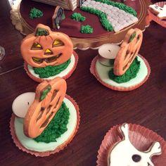 Halloween pumpkin cookies 2