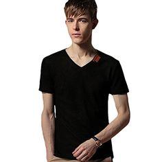 Minibee Men's V Neck T-shirt Cotton Linen V Neck Tee Black-M Minibee http://www.amazon.com/dp/B00XX0PUVI/ref=cm_sw_r_pi_dp_sG5Kvb0APFZWD