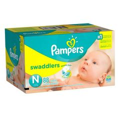 Product Image for Pampers® Swaddlers™ 88-Count Size 0 Super Pack Diapers 1 out of 5