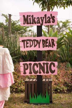 Mikayla's Teddy Bears picnic | CatchMyParty.com