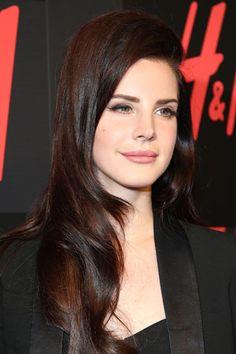 Hair Color Trends Fall 2012 - Dark Side: Lana Del Rey