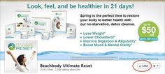 Cleanse and Refocus with Ultimate Reset! FTFWJen@Gmail.com https://www.facebook.com/FatToFitWithJen