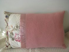 Pillow  Vintage up-cycled woollen blanket by Spiritcraft1955