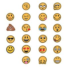 emoji expression Iron on Patches Embroidered Badge Applique patch WB Cute #Unbranded