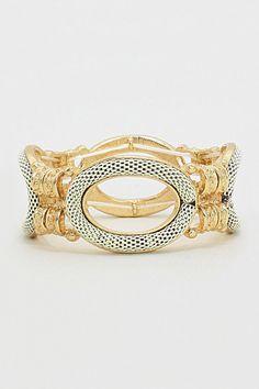 Nicholai Bracelet in Ivory Mesh on Emma Stine Limited