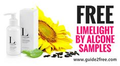 Get FREE LimeLight by Alcone Chemical Free Skin Care Samples! Give LimeLight by Alcone chemical free skin care a try today by requesting a sample. They would love to send a no-obligation sample pack to you in the mail. via @guide2free