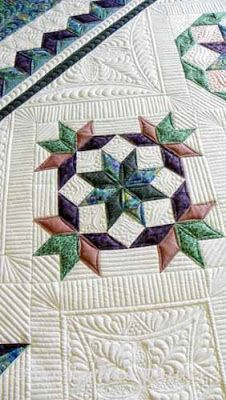 Gorgeous - love the quilting