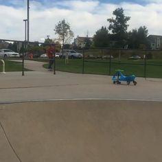 Tommy.skates.colorado Briargate Skatepark #Skateboarding #Tommy #Townsend