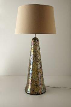 Tarnished Prism Lamp Base #Anthropologie