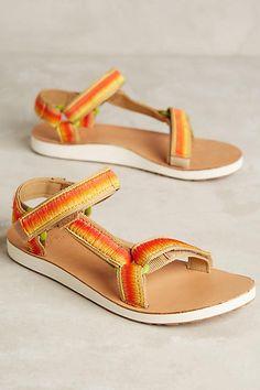 $70 Teva Original Universal Ombre Sandals - anthropologie.com