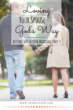 Discover how God designed love to work and learn how loving your spouse God's way might just make all the difference in our marriage. Click through to read.