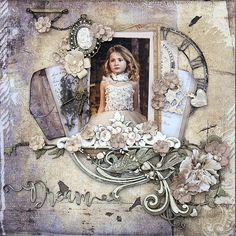 Life's little Embellishments: Dream ****49 and Market**** Scrapbook Blog, Scrapbook Pages, Scrapbooking Layouts, Layout Inspiration, Mixed Media Art, Embellishments, Bling Bling, Images, Shabby Chic