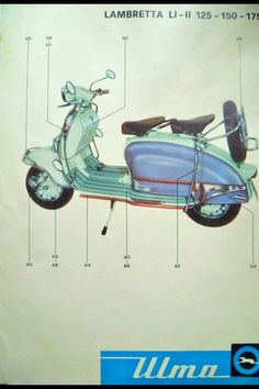 005 | by lambretta li 150 series 2 Lambretta Scooter, Vespa Scooters, Scooter Garage, Realistic Drawings, Witch, My Arts, Motorcycle, Industrial Design, Classic