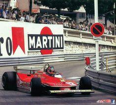 Gilles Villeneuve,Ferrari 312 T4 Monaco 1979 - als Sex noch sicher war und Autorennen gefährlich ...