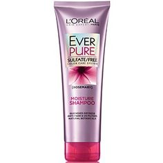 EverPure Moisture sulfate free shampoo with Rosemary by L'Oréal Paris. Deeply replenishes dry hair with essential moisture, lush-touch softness & luminous shine.