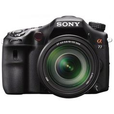 Sony Alpha SLT-A77 Translucent Mirror Digital SLR Camera with 18-135mm Lens *** Learn more by visiting the image link.
