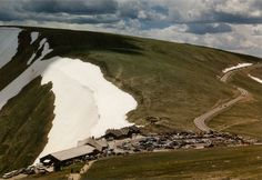 Love the view from this short hike above the Trail Ridge Visitors Center in Rocky Mountain National Park!