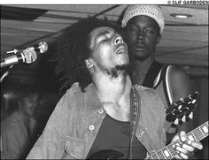 Bob Marley & Peter Tosh live in 1973