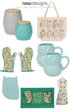 My Owl Barn: Wise Owl Collection by Now Designs
