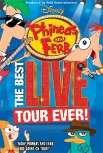 FREE Phineas and Ferb tickets!