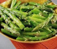 HCG Diet Lemon Zest Asparagus