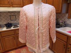 Vintage Retro Ladies Bed Jacket Lingerie by sistersfuntreasures, $13.00