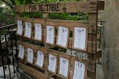 Découvrez des idées pour un Mariage champêtre   #wedding #rustic #wood #palette  http://misseswanderlust.com/deco-dun-mariage-champetre-%E2%99%A5%E2%98%86/