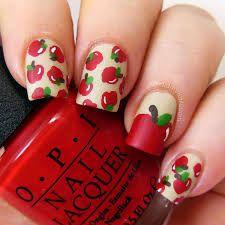 Diy: Apple nail design!
