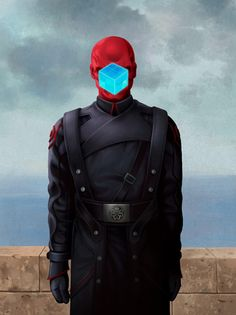 Magritte + Red Skull | Flickr - Photo Sharing!