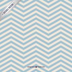 Blue chevorn seamless pattern Free Vector